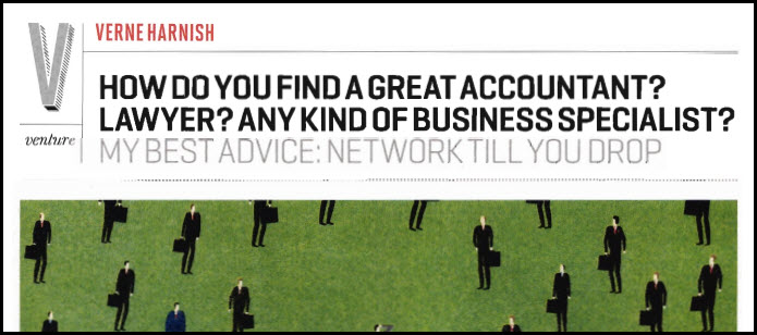 How Do You Find a Great Accountant? Lawyer? Any Kind of Business Specialist?