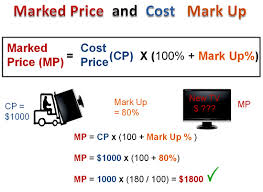 How to Calculate a Price Markup