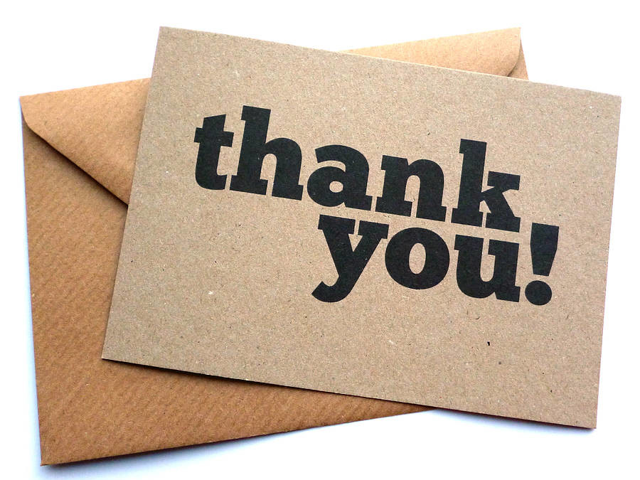Thank You Notes to Interviewers: Beyond Thanks – Close the Sale!