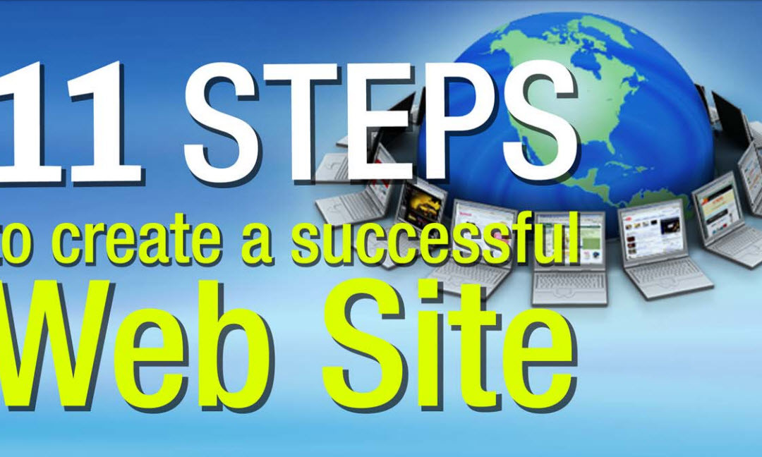 11 Steps to Create a Successful Website (an e-book)