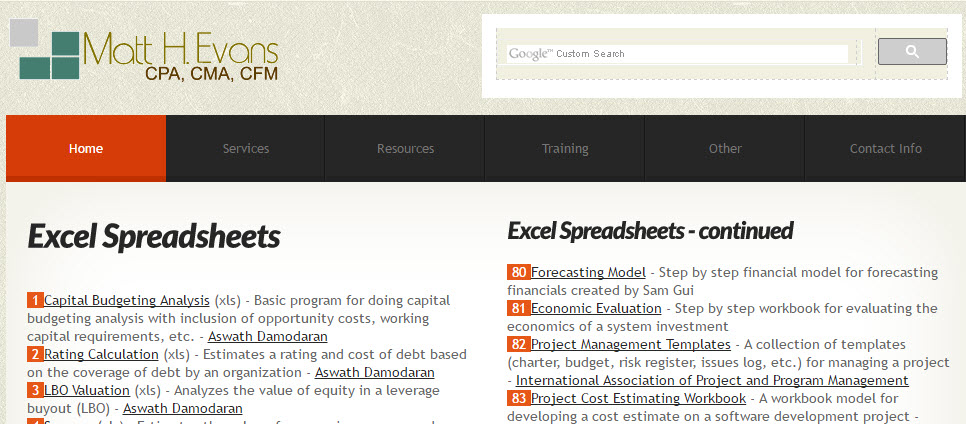 ms excel cornerstone business solutions